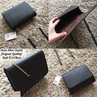 HnM Mini Clutch Black