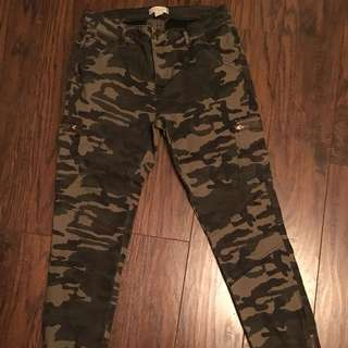 Womens Camo Jeans