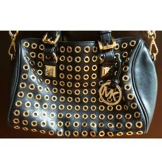 Michael Kors Medium Grayson Studded