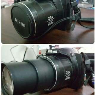 Nikon P100類單眼相機+專業相機包+配件組,8G 記憶卡