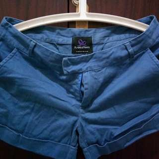 Authentic Preloved Plains And Prints Dark Blue Short
