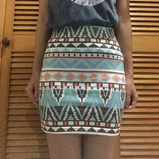 Colorbox Ethnic Skirt