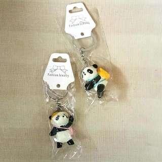 Panda 3D Keychain