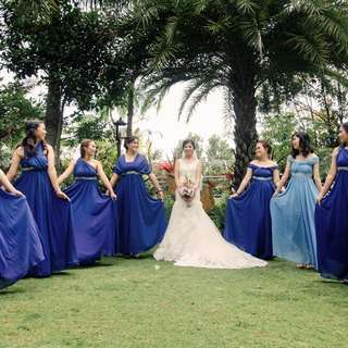 bridesmaid gowns for RENT