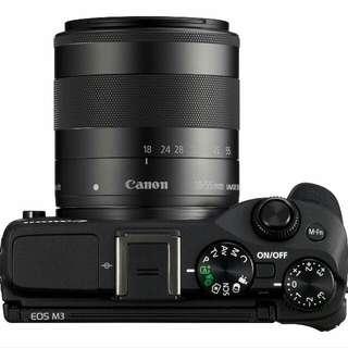 (BARU) Canon M3 Black