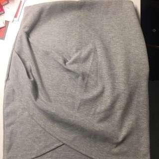 Grey Bodycon Skirt