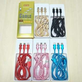 3IN1 Fashion Usb Cable