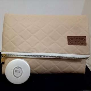 Women's Cream Beige Purse