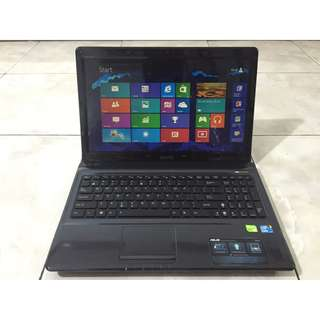 Asus Core i5 Gaming Laptop 8GB Ram 750GB Hdd