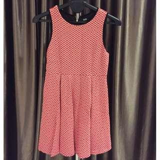 Dotti Diamond ruby dress