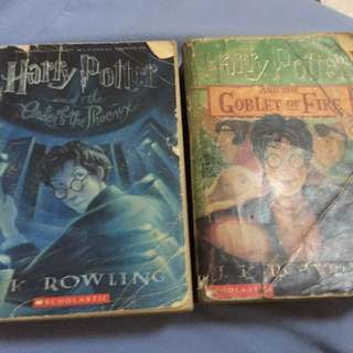Harry potter And The Goblet Of fire + Order Of Phoenix