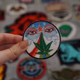 Stoned Hippie patch