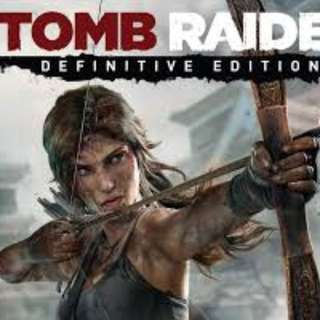 PS4 games  Tomb Raider Definitive Edition