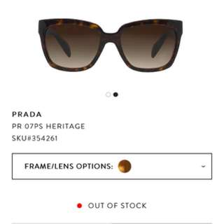 Prada Sunglasses- Brand New