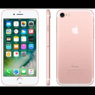 Iphone 7 Rose Gold New And Sealed Collected On 28march 17 128gb