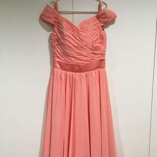 Pastel Long Gown - Small