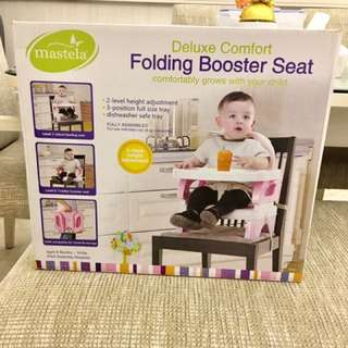 Mastela Deluxe Baby Folding Booster Seat