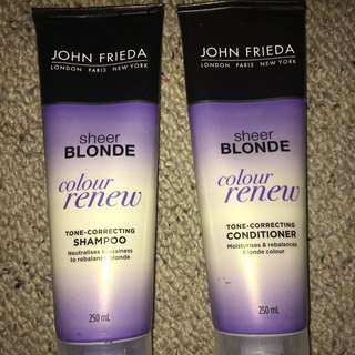 Blonde Shampoo John Frieda