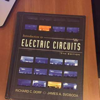 Introduction To Electric Circuits 7th Edition