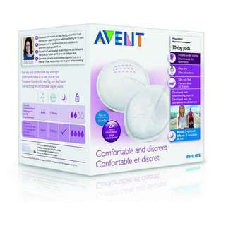 BNIB: Philips Avent Disposable Breast Pads (30 day pads) - SEALED
