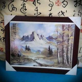 舊物/收藏/古董/ 瓷版畫