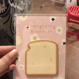 麵包memo紙