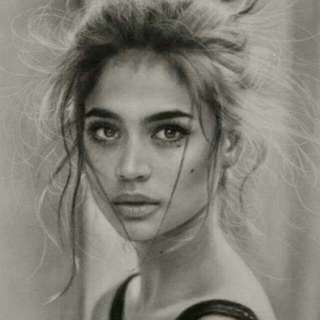 Charcoal Portrait/Drawing (Personalize) { Negotiable Price Base On The Original Pricing }