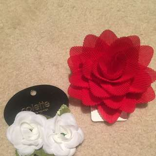Flower Hair Clips Lovisa & Colette