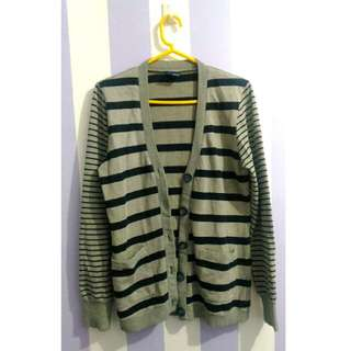 Blued - Striped Cardigan