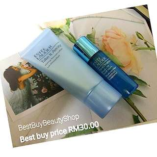 Estee Lauder  Promotion Price  -Take It Away makeup Remover Lotion 30ml -New Dimension Shape+fill Expert Serum 7ml