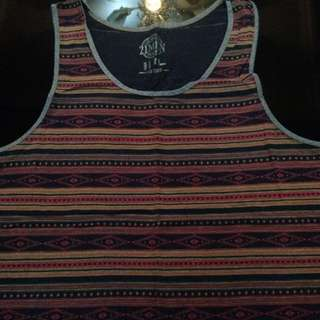 Forever 21 Aztec Tank Top
