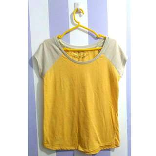 Penshoppe - Yellow Basic Tee