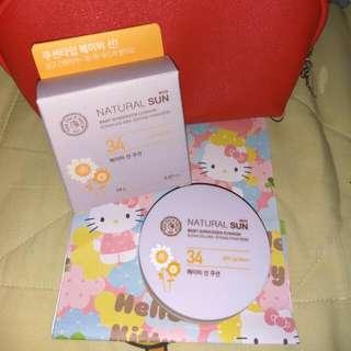 The Face Shop Eco Natural Sun Baby Sunscreen Cushion