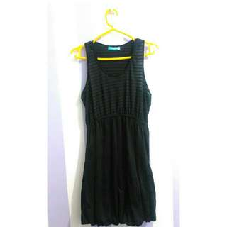 Seventeen - Black Striped Dress