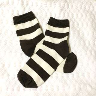 Korean-Style Stripes Socks