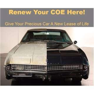 Renew COE Loan , Inhouse car Loan - Super Fast Approve