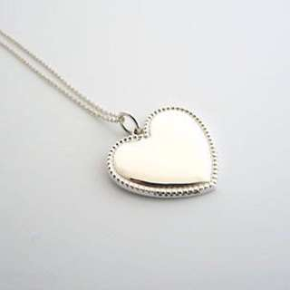 Beautiful Authentic Tiffany Necklace with Heart Charm