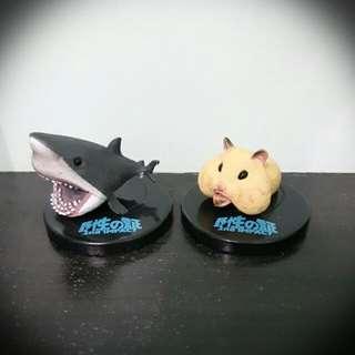 扭蛋-野性の証(鯊魚、倉鼠)