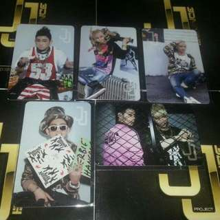 [WTB/LF] GOT7 JJ Project Bounce Photocards