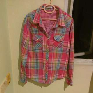 Soft Cotton Checked Shirt By Valleygirl