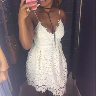 Brand New White Lace Dresses