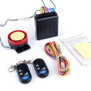 Motorcycle Remote Control 12v Anti-theft Alarm System