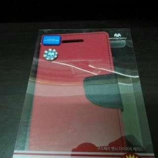 Mercury HTC M9書本式皮套~買一送一