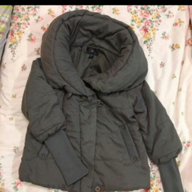 50%花苞領外套