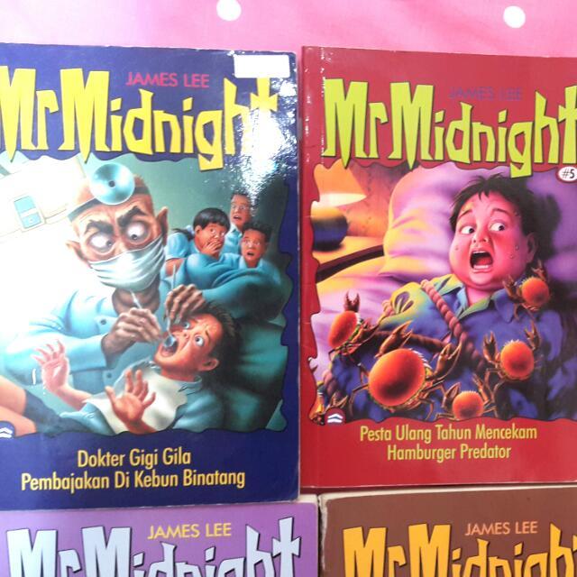 5books mr. Midnight (Horor-komedi)