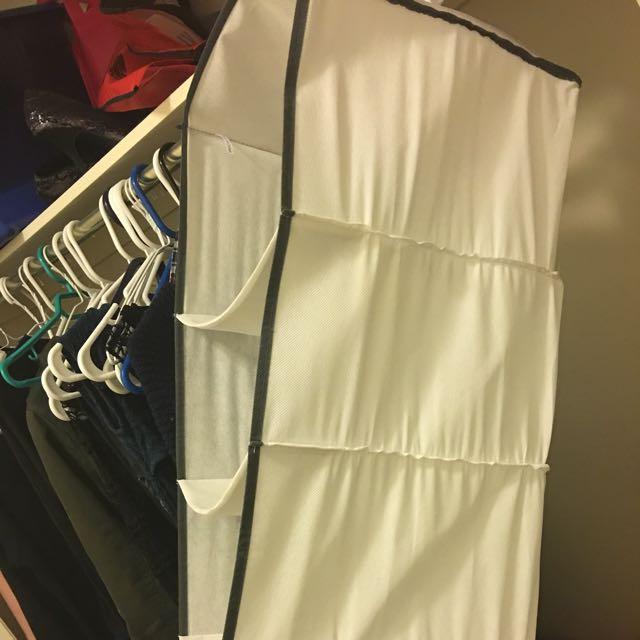 6 Compartiments Closet Organization