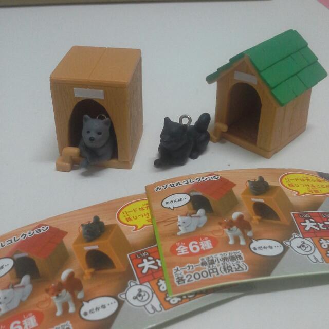 第一代 狗屋 扭蛋 柴犬(有紙)(合售130)