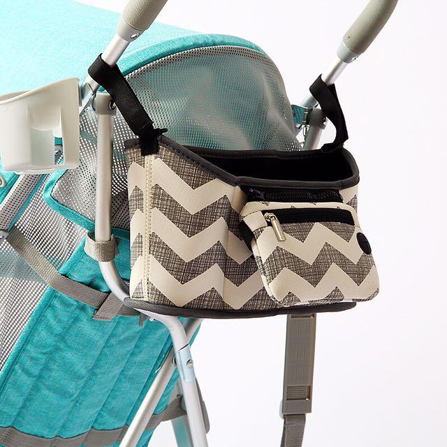 🎀全新🎀嬰兒推車多功能防水百搭掛袋置物袋奶瓶袋推車媽咪包嬰兒車掛包推車包 置物袋 收納袋 嬰兒車掛袋 必備 收納包