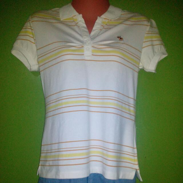 Abercrombie & Fitch Vintage Polo Shirt