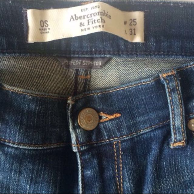 Abercrombie And Fitch Jeans Denim A&F